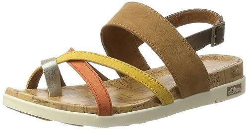 007d45e54ee s.Oliver Women s 28116 Wedge Heels Sandals  Amazon.co.uk  Shoes   Bags
