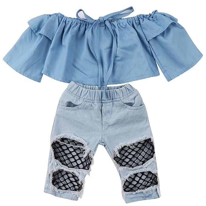 Amazon.com: Emmababy - Pantalones vaqueros para recién ...