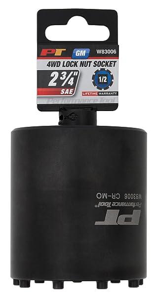 Performance Tool W83006 Axle Nut Socket 1 2 Drive 9 Lug GM