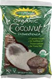 Let's Do Organic Unsweetened Coconut Shredded, Fine Shred, 8 oz (2 Pack)