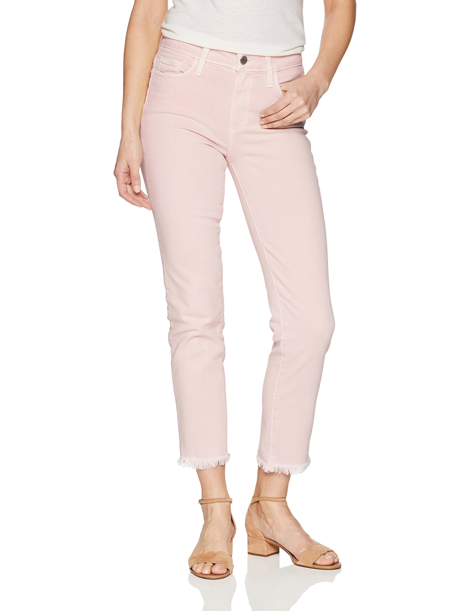 PAIGE Women's Hoxton Ankle Jeans, Faded Cotton Candy, 29