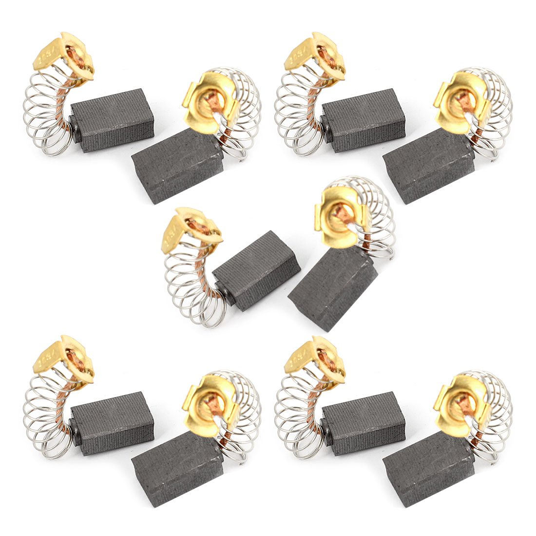 sourcing map Carbon Brushes for Electric Motors 20mm x 8mm x 4mm Replacement Repair Part 2pcs