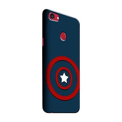 huge discount e374b 4969b Gosmartkart Oppo f7 Captain America Printed Back Cover: Amazon.in ...