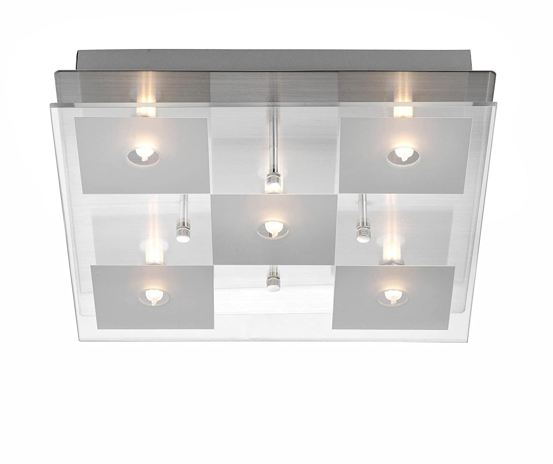 Leuchten Direkt, Deckenleuchte, EEK C, 5xG9/28W, chrom: Amazon.de ...