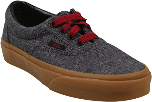 640f902dca76b8 Image Unavailable. Image not available for. Color  Vans Era Sneakers Little  Boys ...