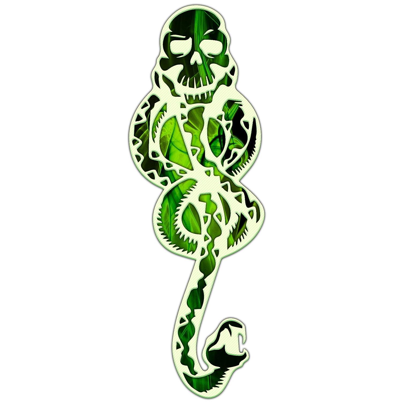 """Decal Serpent Evil Snake Symbol Slytherin Tom Riddle Sticker 6"""""""