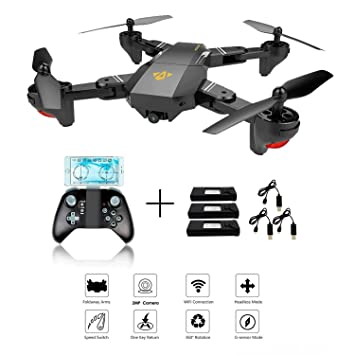 XS809W Foldable RC Quadcopter with Altitude Hold FPV VR Wifi Wide ...