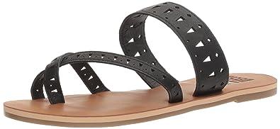 bf42a036ced370 Billabong Women s Tinsley Flat Sandal Off Black 9 ...