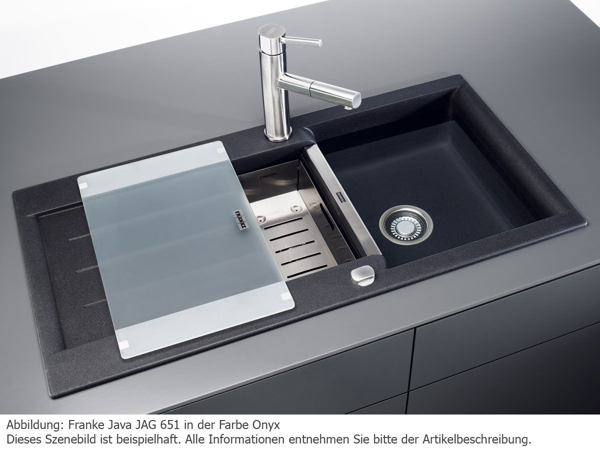 Spülbecken franke  Franke Küchen-Spüle Java JAG 651 (114.0302.671) - Fragranit Umbra ...