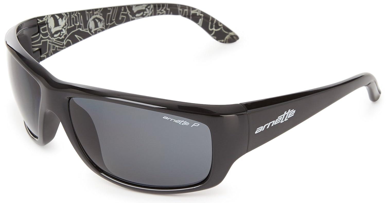 939fa98debd Amazon.com  Arnette Men s Cheat Sheet AN4166-03 Polarized Wrap Sunglasses