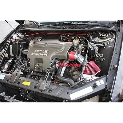 2000 2001 2002 2003 2004 2005 Buick Lesabre 3.8L V6 Air Intake Filter Kit System (Blue Filter Accessories)