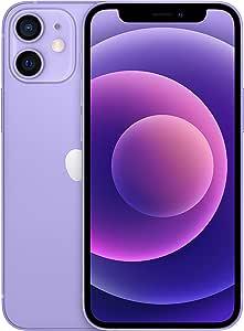 Apple iPhone 12 Mini, 5.4-inch, 128 GB, 4 GB RAM - Purple