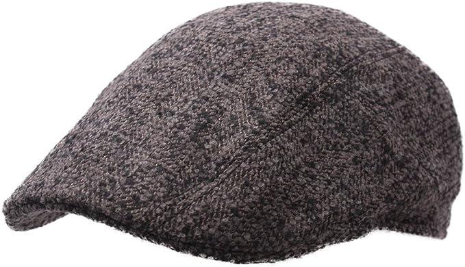 Stetson - Boinas - Gorra Plana Hombre Michigan Virgin Wool/Silk ...