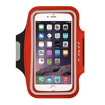 wholesale dealer 00184 7ae55 J&D Armband Compatible for iPhone 6 Plus/iPhone 6S Plus/iPhone 7  Plus/iPhone 8 Plus/iPhone XS Max Armband, Sports Armband w/Key holder  Slot&Earphone ...