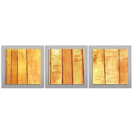 Amazon.com: Orange Wall Art \'Autumn Essence\' - 38x12 in. - Orange ...