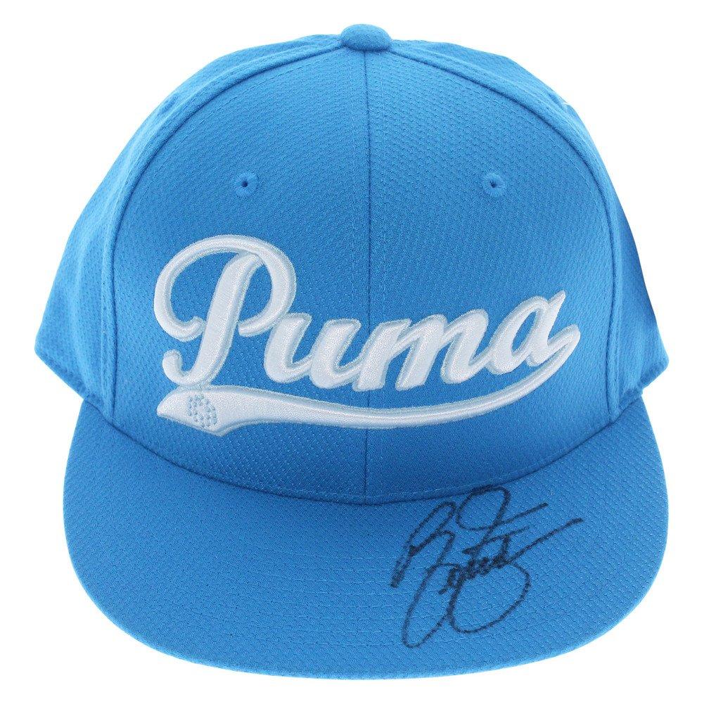 0b457aa143d ... norway rickie fowler autographed blue puma hat psa dna authentication  decc8 c619d