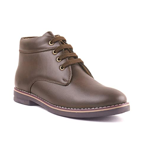 3a411eb52a2 J10 Boy s Casual Brown Colour Boot for Kids bata  Amazon.in  Shoes    Handbags
