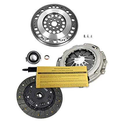 Amazon.com: EFT CLUTCH KIT+ PROLITE FLYWHEEL SET ACURA RSX TSX HONDA ACCORD CIVIC Si K20 K24: Automotive