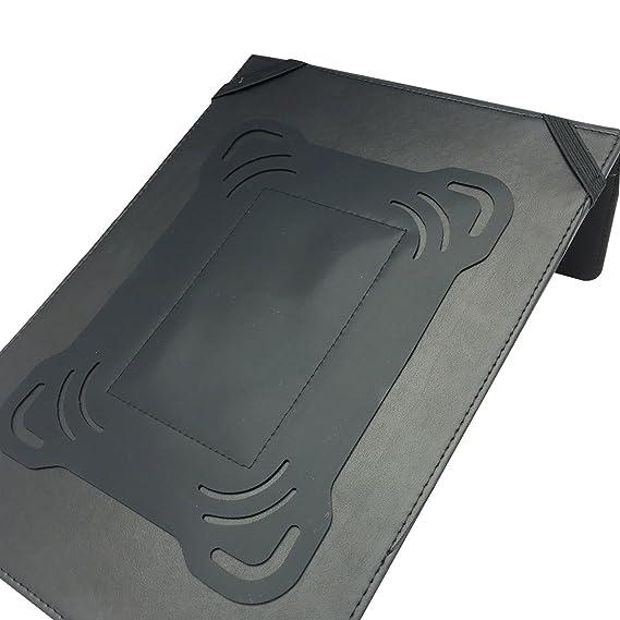 MSP Ejecutivo con cremallera cartera w/Slide retráctil Smart mango, calculadora, bloc de notas tableta, transparente negocio titular de la tarjeta (047): ...