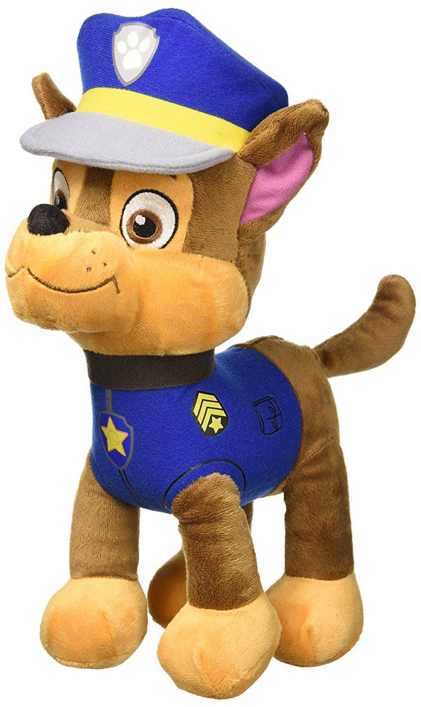 Chase Patrulla Canina Perro Policia Peluche 28cm: Amazon.es: Juguetes y juegos