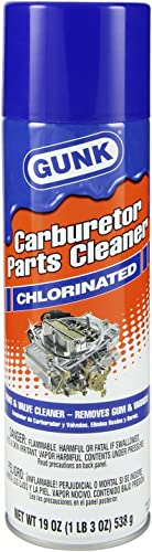 Gunk Chlorinated Carburetor Parts Cleaner