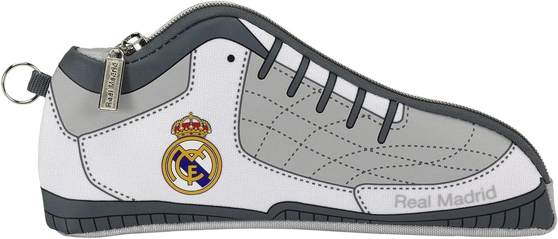 Real Madrid - Estuche portatodo Zapatilla (SAFTA 811624584): Amazon.es: Ropa y accesorios