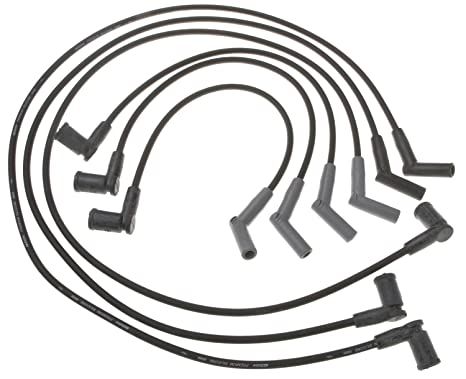 Amazon Com Acdelco 9366b Professional Spark Plug Wire Set Automotive