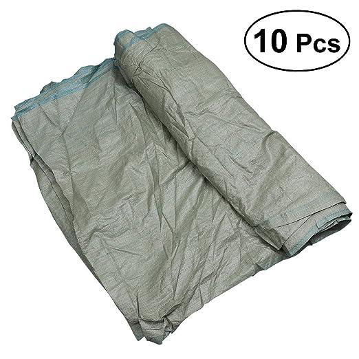 OUNONA - Bolsas de plástico para arena (10 unidades ...