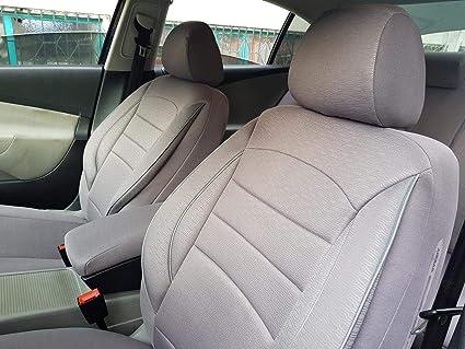 Fundas de asiento K de Maniac | universal gris | Fundas para asientos de coche Set