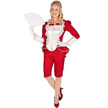 dressforfun Dama noble veneciana | Parte superior elegante con cremallera | Pantalones cómodos y elegantes al