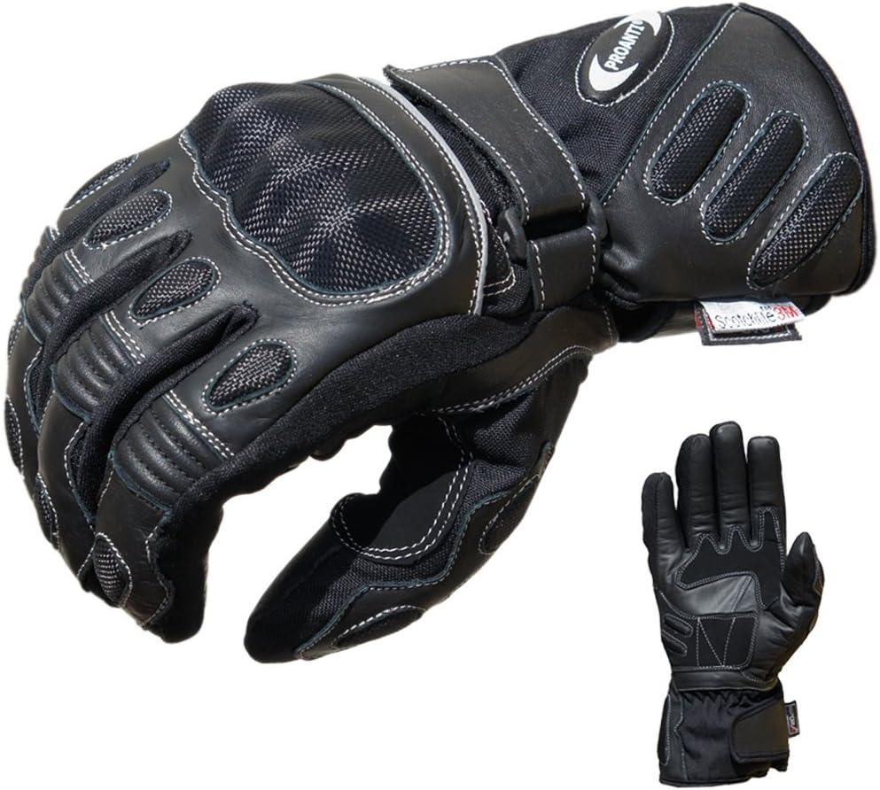 PROANTI Motorradhandschuhe Regen Touring Motorrad Handschuhe Gr/ö/ßen M-XXL