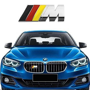 BMW M Metal Barbacoa M de Tech - Insignia Emblema Cromado, Emblema Adhesivo Adecuado
