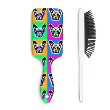 a3dbf583227 Hair Brush French Bulldog Sunglasses - Removes Knots and Tangles - Pain Free  - Soft Fashion