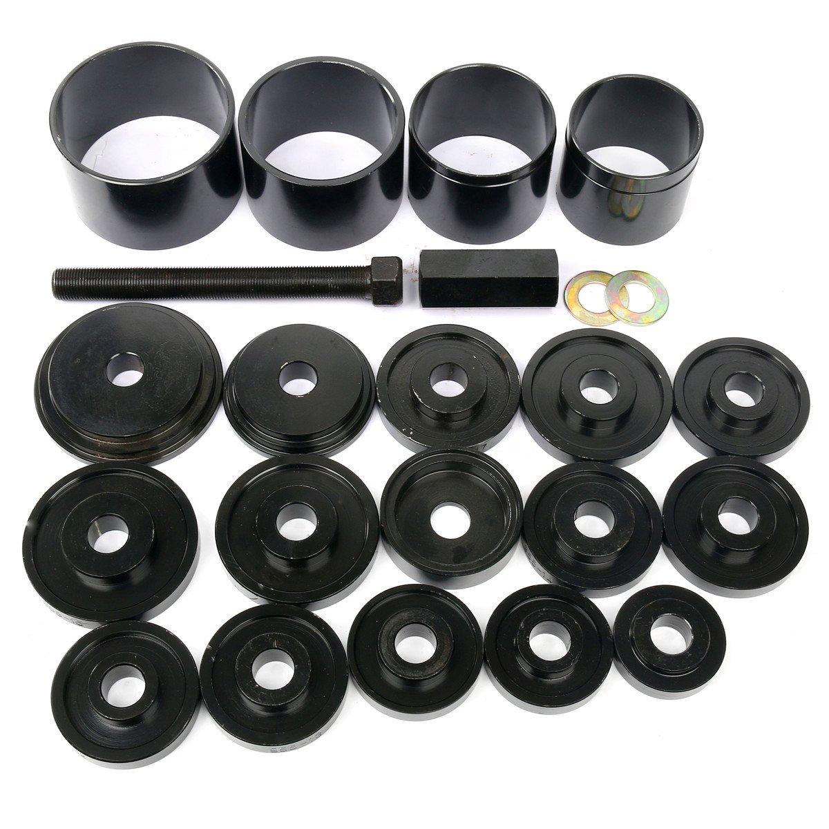 FreeTec Juego de herramientas de 23 piezas para el montaje y la extracci/ón de rodamientos incluye estuche de transporte