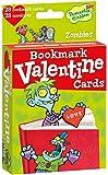 Peaceable Kingdom Pop-Out Zombie Bookmark Valentine Cards