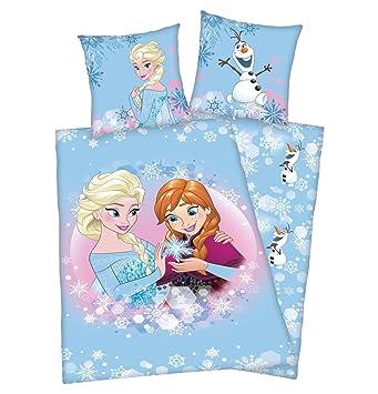 Disney Eiskönigin Eiskönigin Bettwäsche 135x200 Cm Frozen Anna