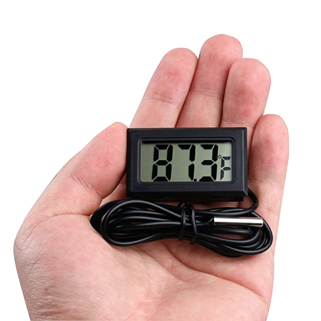 Qooltek Digital LCD Aquarium Thermometer