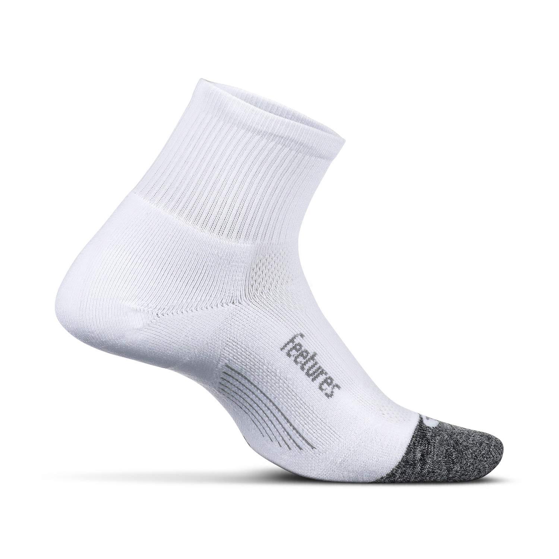 Feetures - Elite Light Cushion - Quarter - Athletic Running Socks for Men and Women