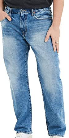 American Eagle Mens Loose Jean, Authentic Light 30x32 at