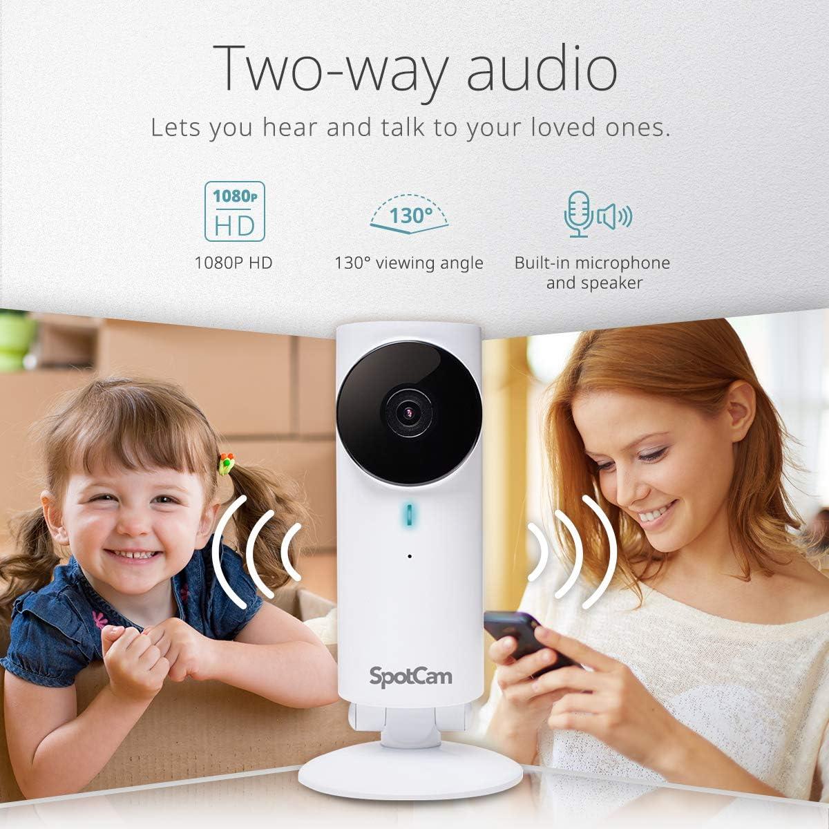 Spotcam Fhd 1080p Kabellose Sicherheitskamera Für Die Computer Zubehör