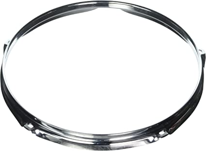"8  Hole//Lug Snare Batter WW Shipping New 2.3 Chrome Drum Hoop 14/"" Tom"