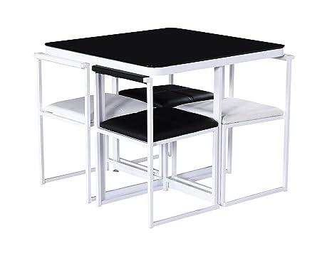Home Gift Garden Hgg - Stowaway tavolo e sedie da pranzo - tavolo e ...