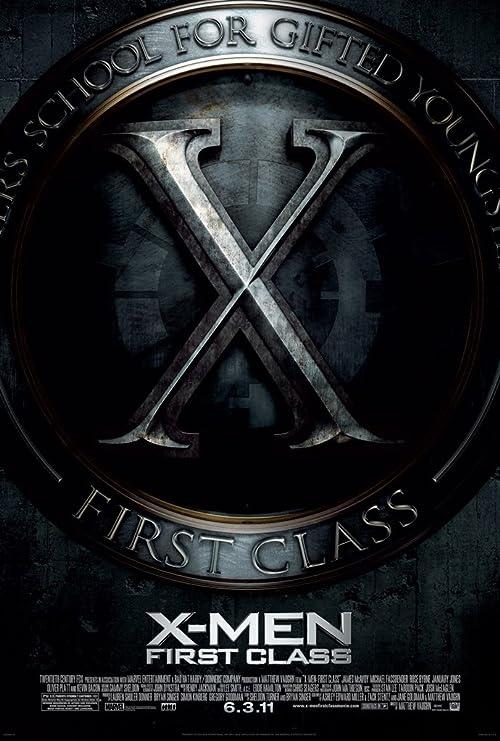 Amazon.com: X-MEN FIRST CLASS MOVIE POSTER 1 Sided ORIGINAL FINAL ...