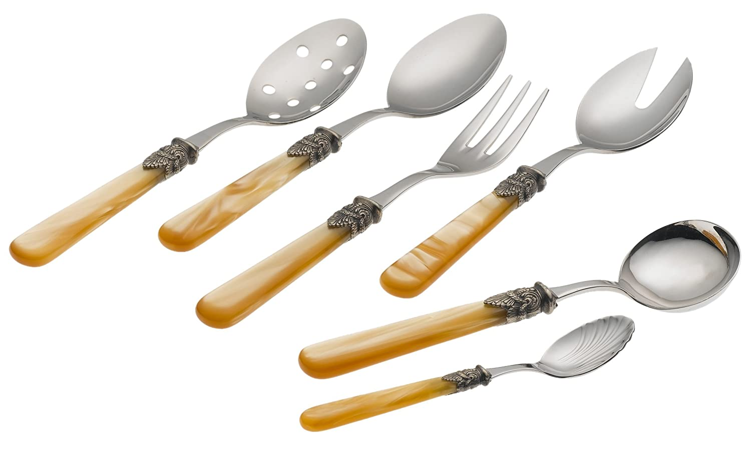 Champagne Napoleon 6-Piece Hostess Set
