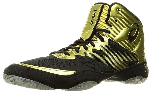 Rich Gold/Black Wrestling Shoes