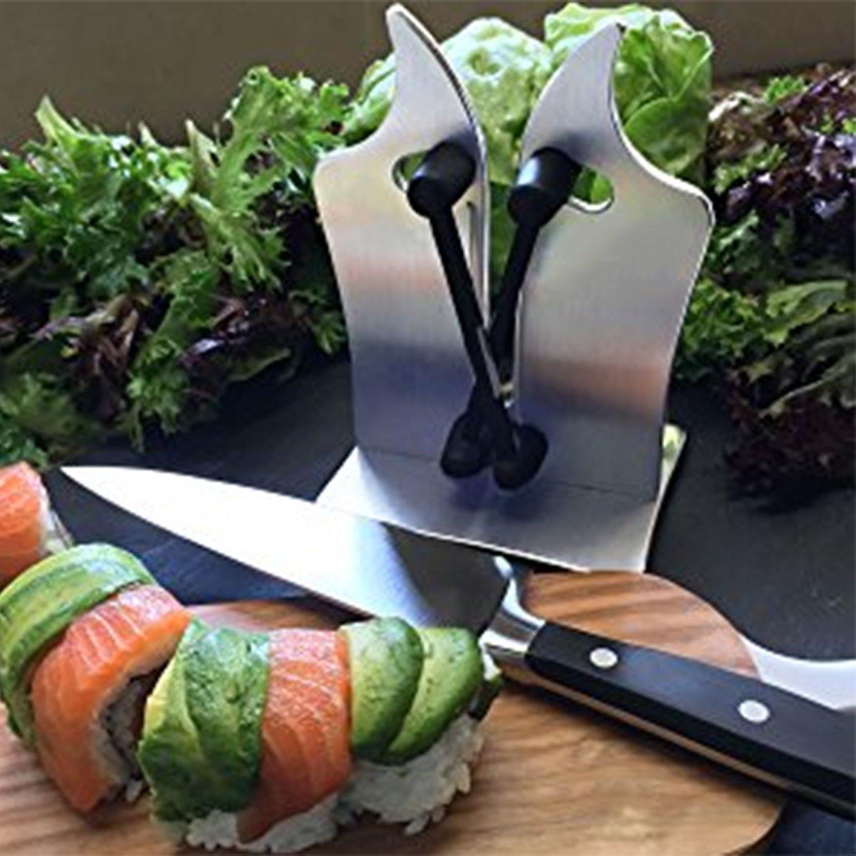 Compra Nifogo Knife Sharpener, Afilador de Cuchillos, Acero ...