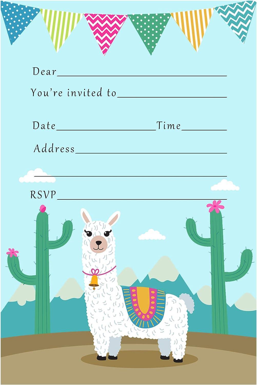 Llama Birthday Party Alpaca Fantasy Animals Premade Scrapbooking Embellishment Paper Piecing Die Cuts Card 3D  CardClip Art.