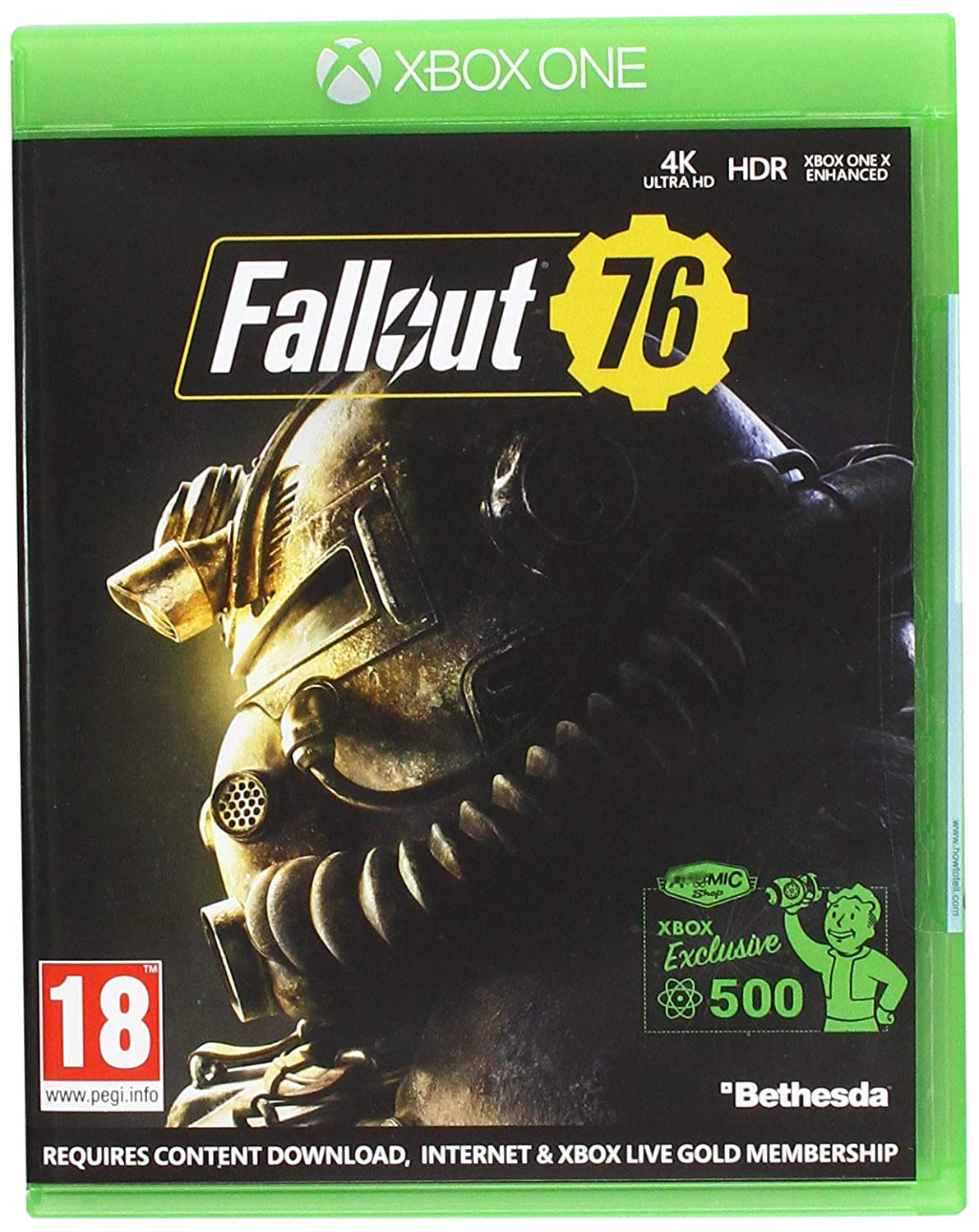 Fallout 76 (Xbox One): Amazon co uk: PC & Video Games