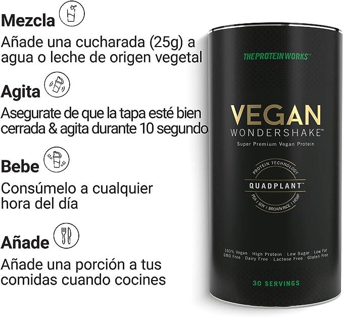 Vegan Wondershake | Batido Proteico Vegano | Super Suave ...