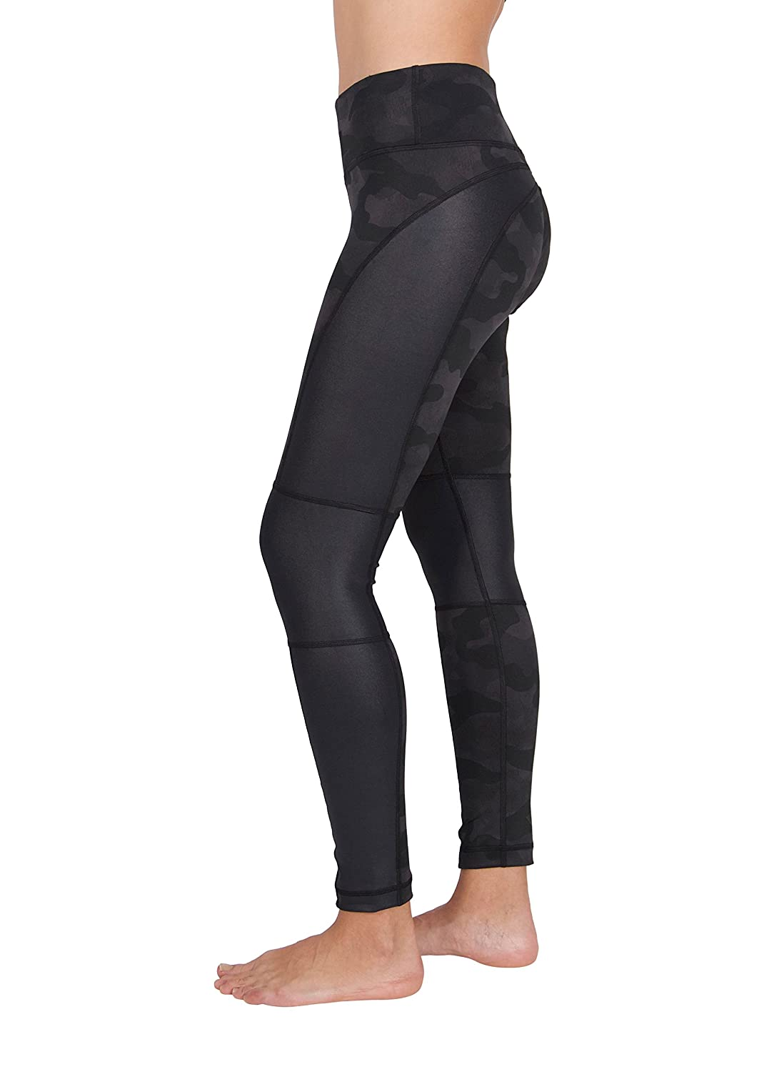"""dbb91bd88e184b The 90 Degree by Reflex 28"""" Missy Leggings – Etched Camo Leggings will have  you feeling fashionable and comfortable. You will look your best wearing  our ..."""